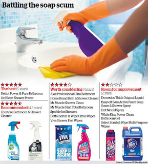 best bathroom cleaner for mold