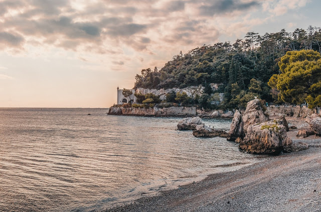 Bay, Beach, Castle,HD,Wallpaper,