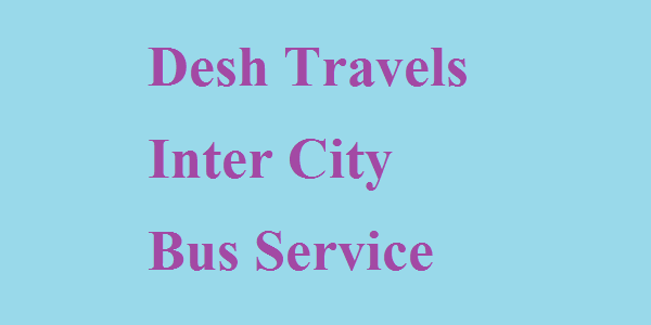 Desh Travels Inter City Bus Service