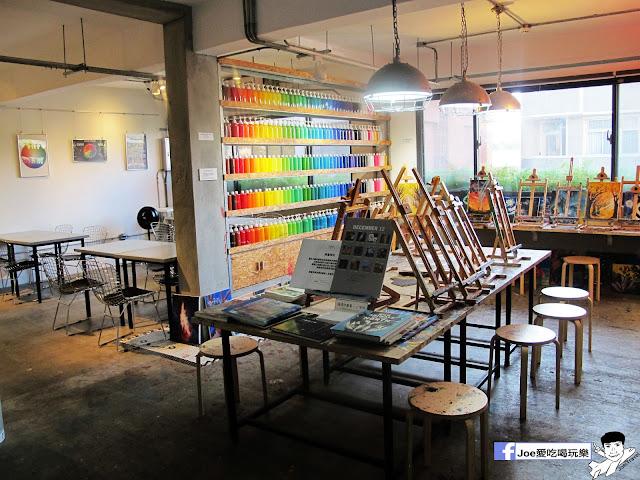 IMG 6482 - CMYK GALLERY | 集會畫教室、藝廊、餐廳於一身的特色餐廳,色彩繽紛的用餐環境,令人賞心悅目,也讓網美們為之瘋狂!