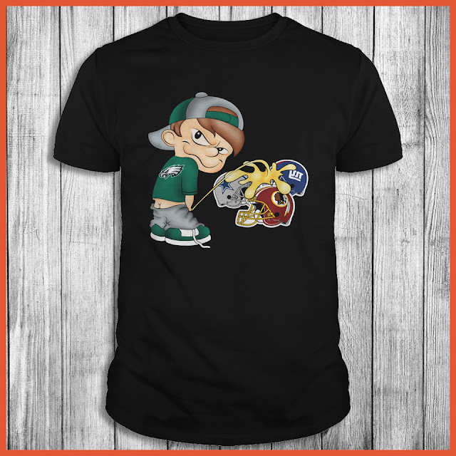 Philadelphia Eagles Piss On The Giants, Cowboys, Redskins Shirt