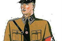 Brown shirt uniform in Nazi Germany