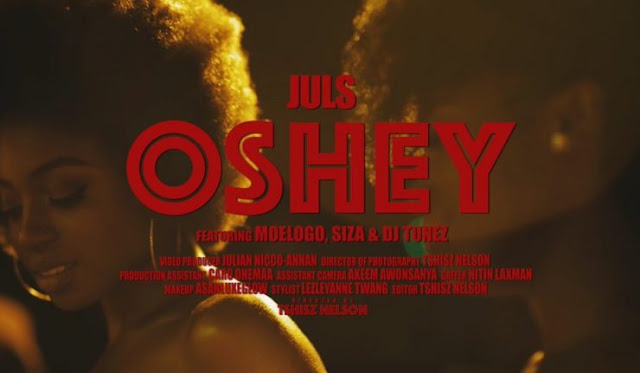 VIDEO: Juls ft. Moelogo, Siza & DJ Tunez – Oshey