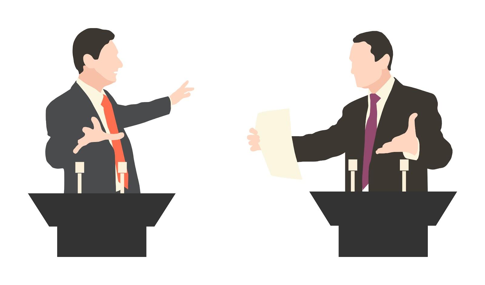 Pengertian Debat Unsur Tujuan Ciri Jenis Tata Cara Dan Struktur