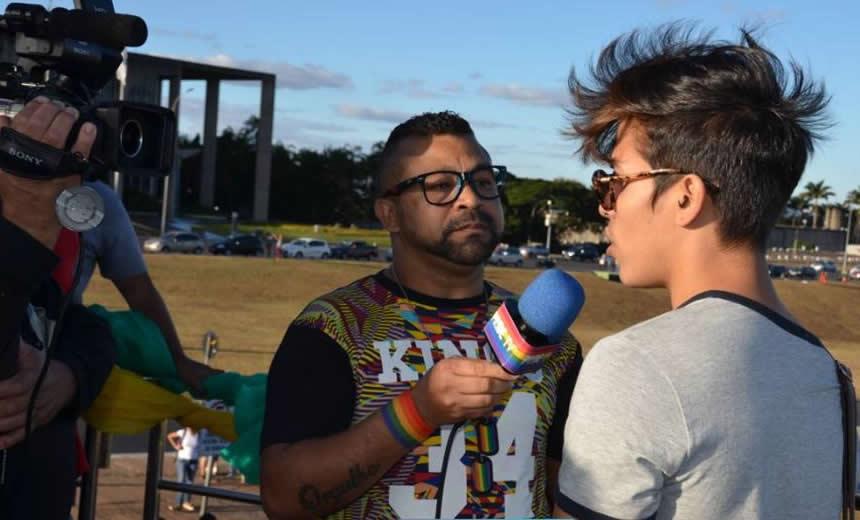 Evento da PrideTV tem lançamento das imagens da 19ª Parada LGBT de Brasília