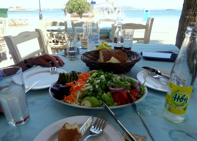 Lunch Preveza harbour