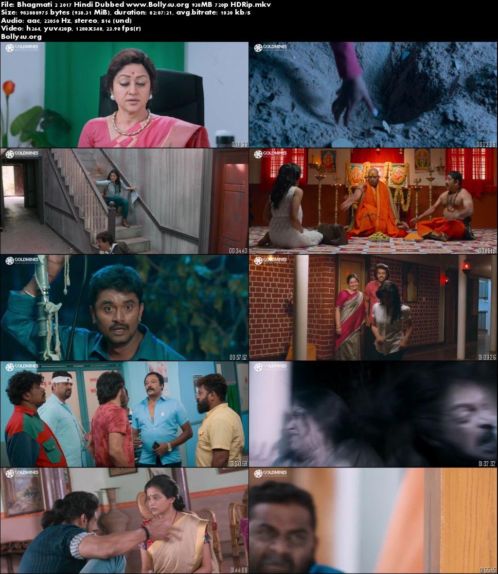 Bhagmati 2 2017 HDRip 720p Hindi Dubbed 900MB Download
