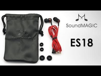 SoundMagic ES 18 best in ear earphones