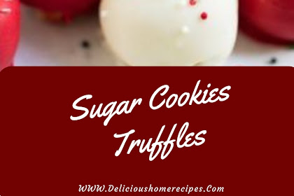 Sugar Cookies Truffles