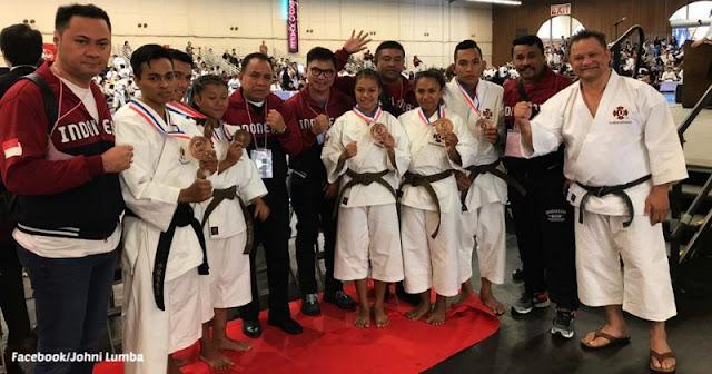 Gemilang Prestasi Atlet Kempo NTT di Amerika Serikat