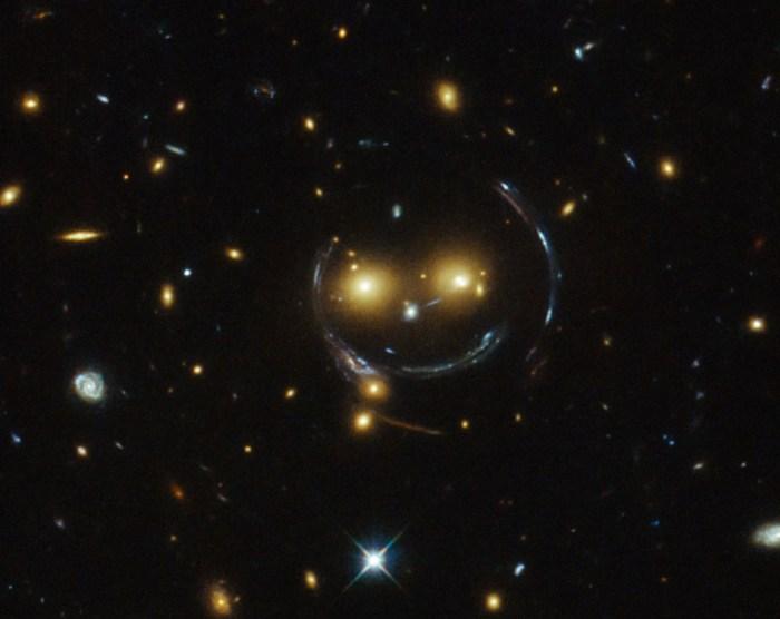 Sorriso do espaço