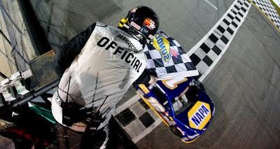 Derek Kraus claimed his second career #NASCAR K&N Pro Series East victory  at New Smyrna Speedway on Monday night.