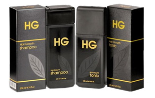 HG Shampoo dan HG Hair Tonic for Men