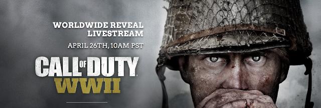 Call of Duty: WWII se presentará el 26 de abril