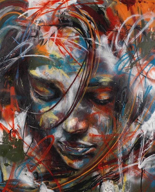 Уличный художник Дэвид Уокер (David Walker) 5