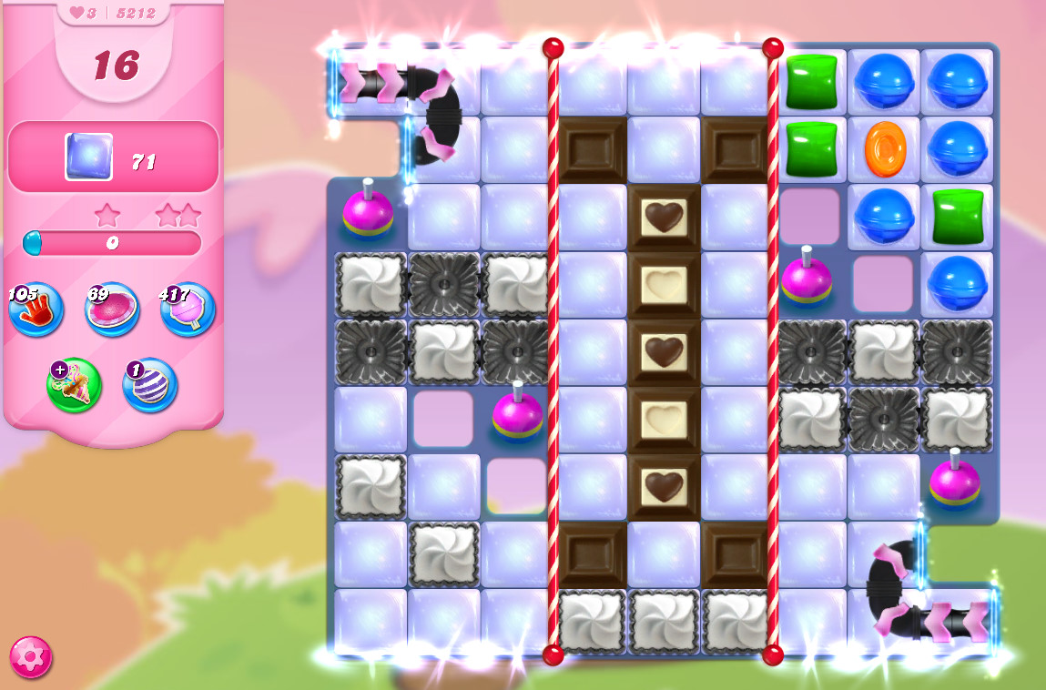 Candy Crush Saga level 5212