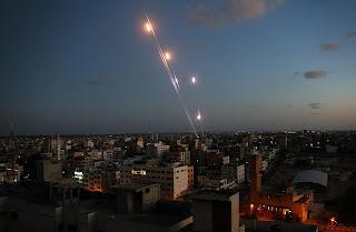 عملية اطلاق صواريخ على اشكول