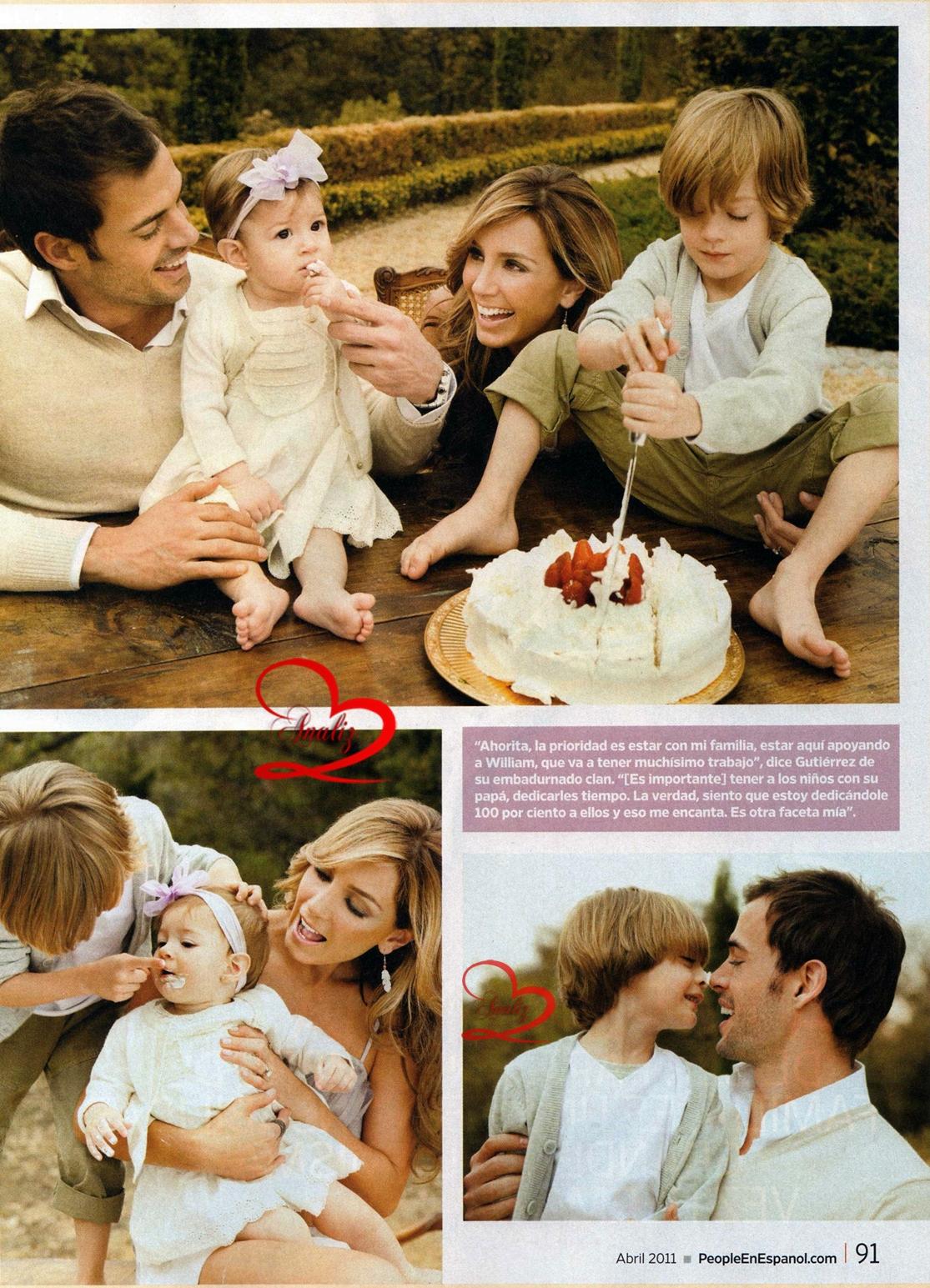 La familia de William Levy y Elizabeth Gutierrez - William ...