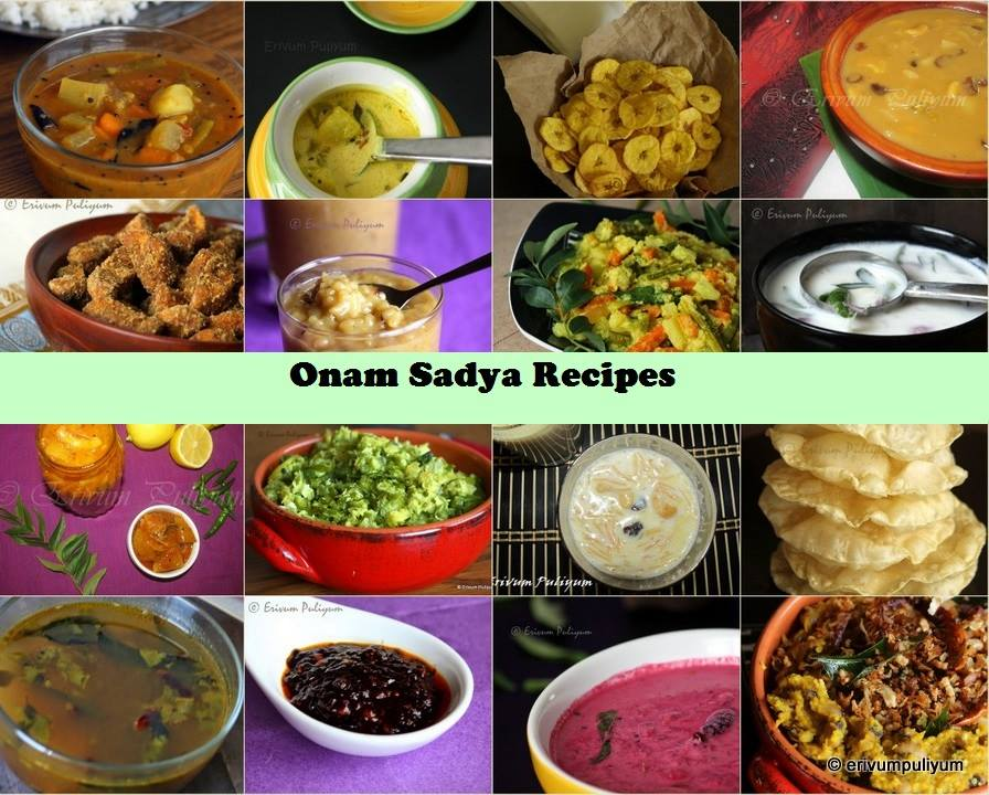 Vishu Sadya Recipes