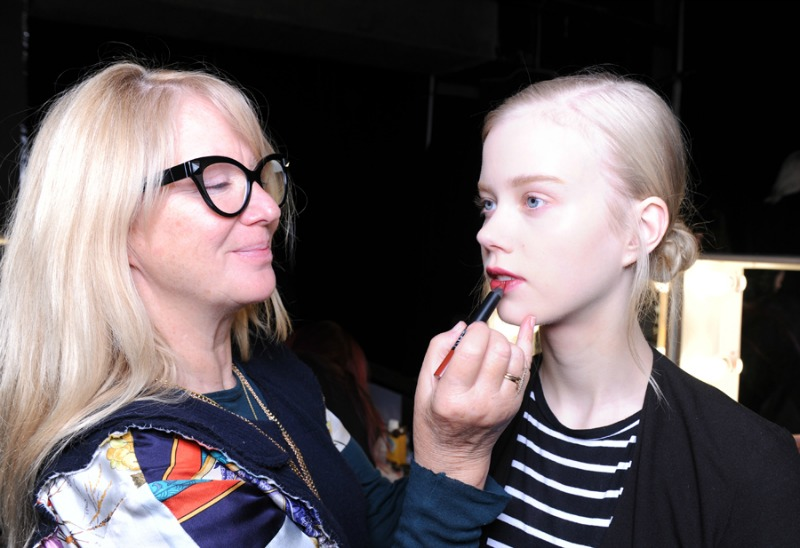 London Fashion Week Erdem and Christopher Kane AW16 NARS Beauty Report. ""
