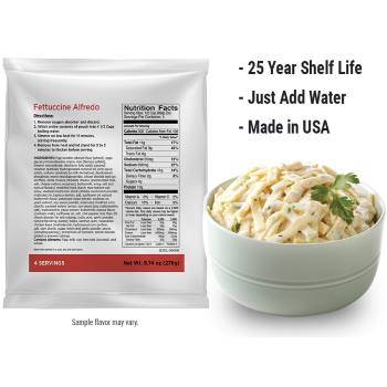 Free Emergency Food Sample from LP - Sampables