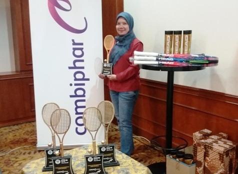 turnamen combiphar tennis open 2018 di Indonesia