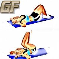 reverse variasi gerakan sit up dan crunch