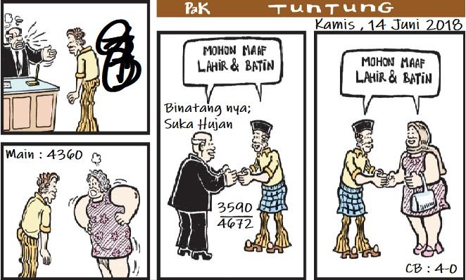 Prediksi Gambar Kode Syair Pak Tuntung Kamis 14 06 2018