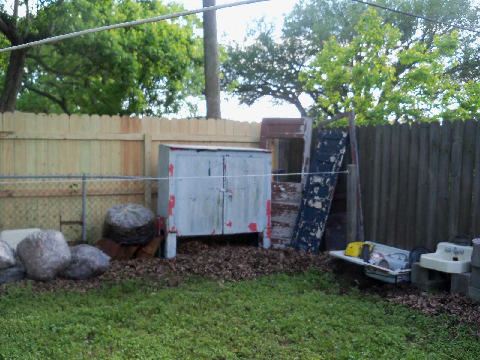 Back Yards Fences Neighbors