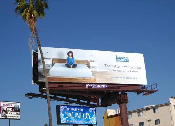 Leesa mattress Spring 2016 billboard