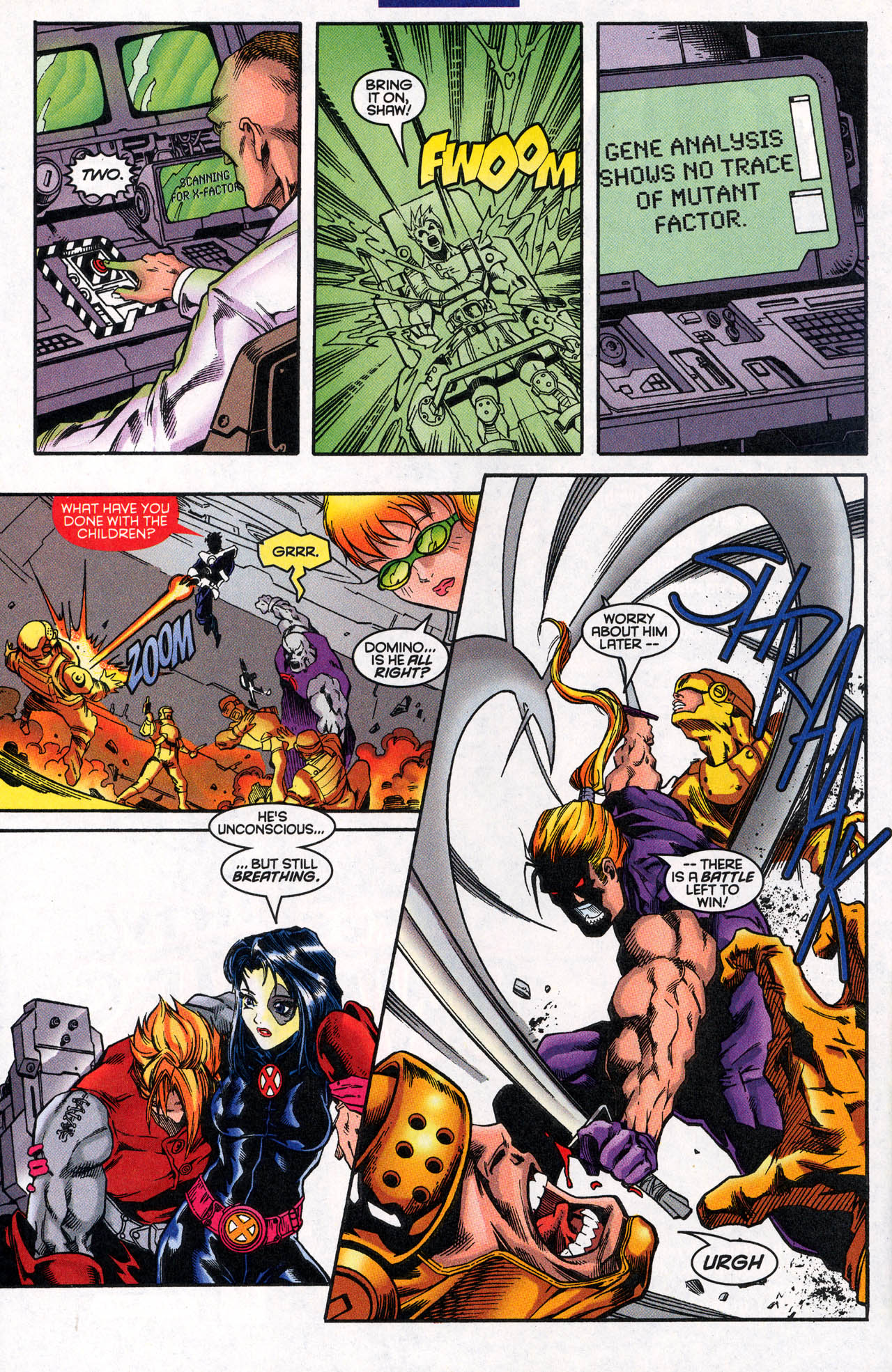 Read online X-Force (1991) comic -  Issue #62 - 25