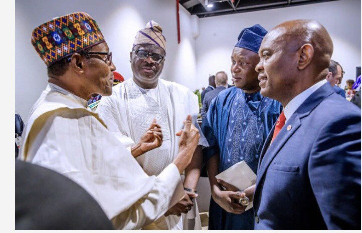 Buhari, Obasanjo meet - Photos