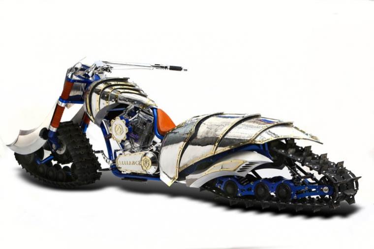 Just a car guy world of warcraft horde inspired choppers for Pol junior design