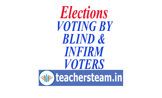 VOTING BY BLIND AND INFIRM VOTERS