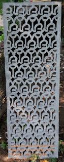 panel GRC krawangan aksara Bali Mang