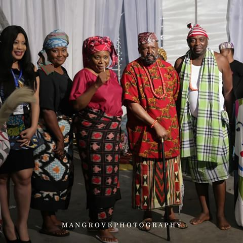 nollywood stars stage play rivers at 50