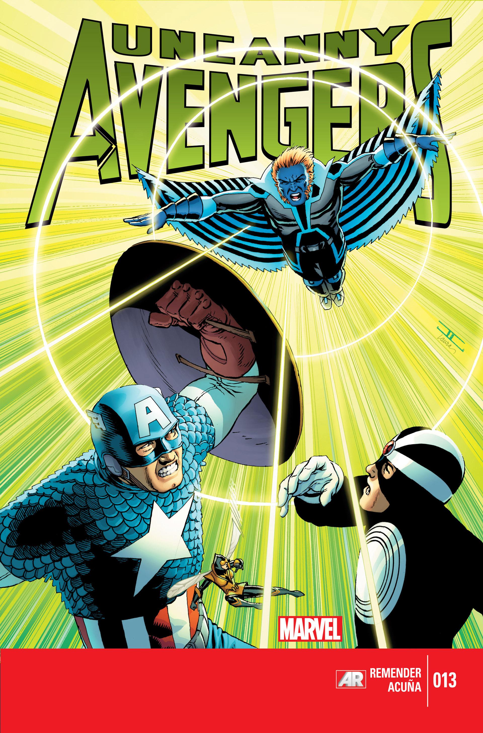 Read online Uncanny Avengers (2012) comic -  Issue #13 - 1