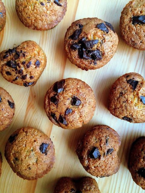 Dyniowe muffiny z czekoladą / Pumpkin Chocolate Chip Muffins