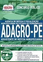 apostila concurso Adagro 2018 - assistente de defesa agropecuária