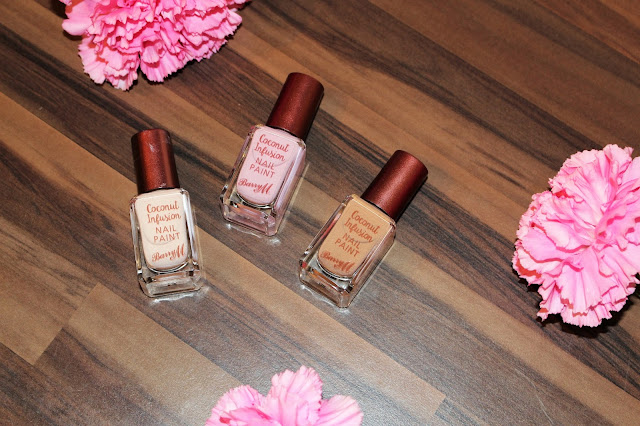 Barry M Coconut Infusion Gel Nail Polishes