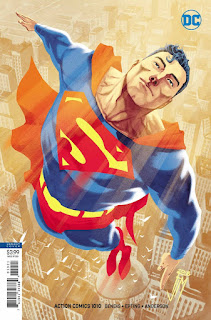 Preview de Action Comics núm. 1010, de Brian Michael Bendis y Steve Epting.