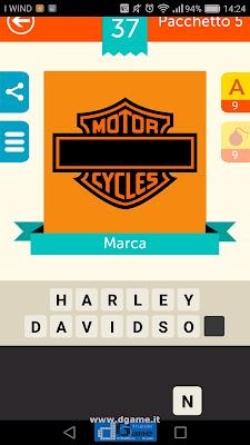 Iconica Italia Pop Logo Quiz soluzione pacchetto 5 livelli 37-75