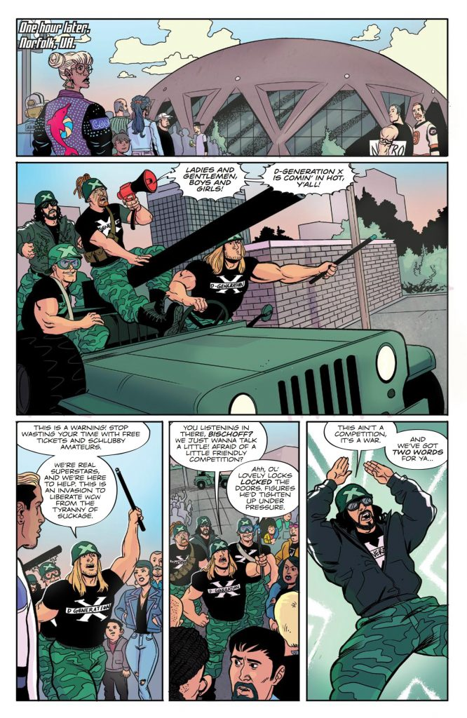 WWE: ATTITUDE ERA #1 - DX Invasion Preview