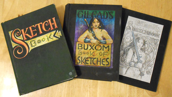 Gurney Journey: Your sketchbook covers