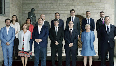 El Gobierno catalán, presuntamente rebelde, sedicioso y malversador (Foto de Internet)