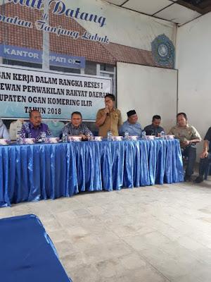 Warga Tanjung Lubuk Sampaikan Aspirasi ke Dewan