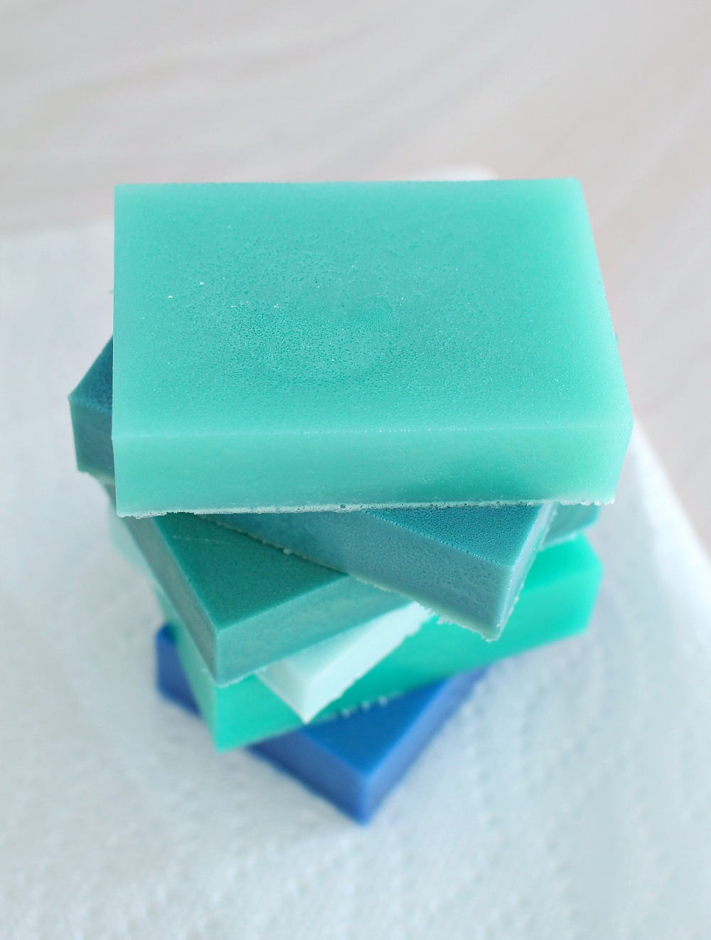 DIY Melt and Pour Lake Superior Soap