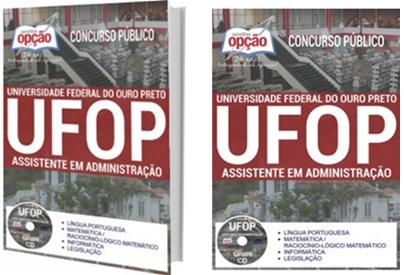 Apostila concurso UFOP MG 2017