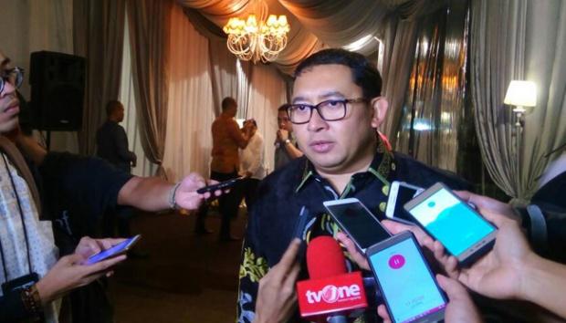 Fadli Zon: Posisi Wakil Gubernur DKI Diserahkan ke PKS