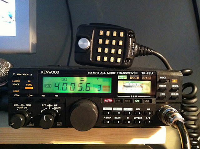 Kenwood TR-751A Mobile Radio